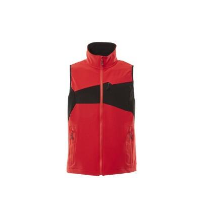 Mascot 18365-511-020209 Zomerbodywarmer signaal rood/zwart