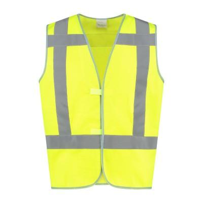 Foto van Bestex Veiligheidsvest geel RWS| VVRWS100 | 017-geel