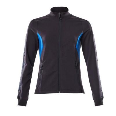 Mascot 18494-962 Sweatshirt met rits donker marine/azur blauw