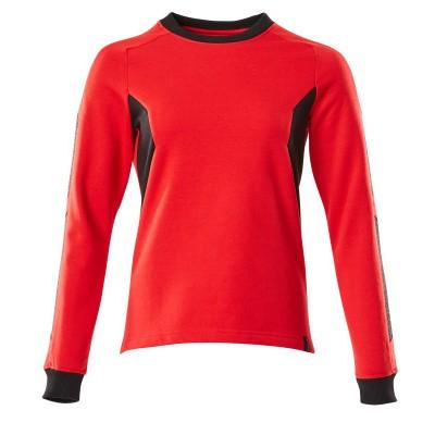 Mascot 18394-962 Sweatshirt signaal rood/zwart