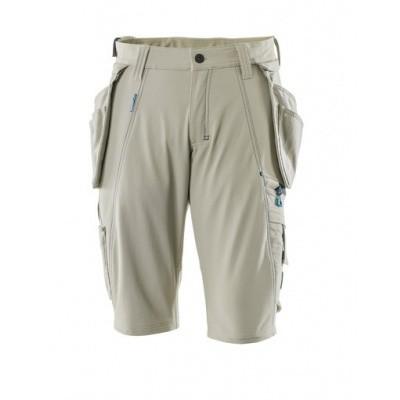 Foto van Shorts with detachable holster pockets licht kaki