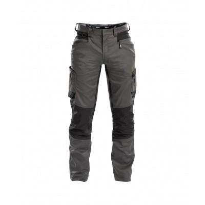 Dassy stretch broek HELIX | 200973 | antracietgrijs/zwart