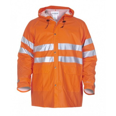 Hydrowear Valencia Regenjas EN471 | 015757-14 | oranje