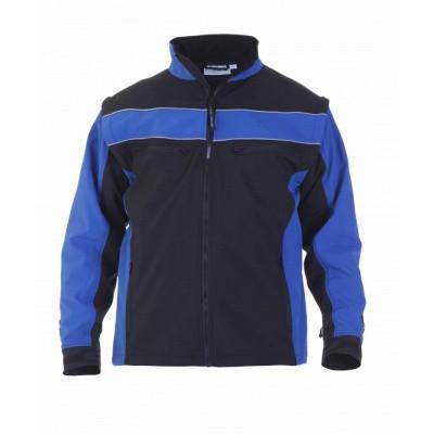 Foto van Hydrowear Rome softshelljack | 042600-119 | korenblauw/zwart