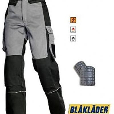 Foto van Blaklader werkbroek 1575-1507 EN531 EN470-1, zwart/antraciet, C58