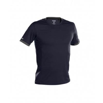 Foto van Dassy t-shirt NEXUS | 710025 | nachtblauw/antracietgrijs