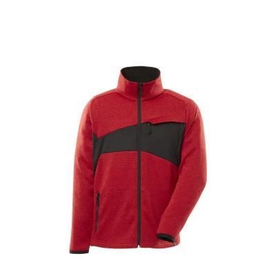 Mascot 18105-951 Gebreide trui met rits signaal rood/zwart