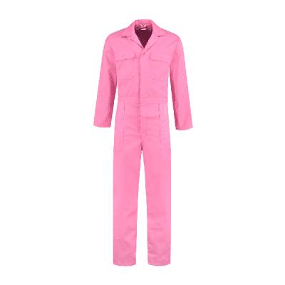 Foto van Bestex kinderoverall polyester/katoen| KOV6535 | 0223-roze