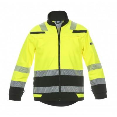 Foto van Hydrowear Telford softshelljack EN471 | 04025985-179 | geel/zwart