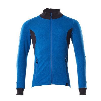 Mascot 18484-962 Sweatshirt met rits azur blauw/donker marine