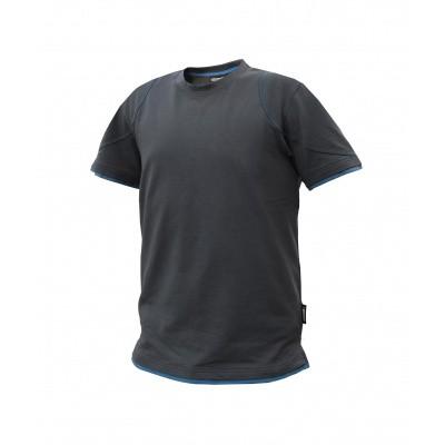 Foto van Dassy t-shirt KINETIC | 710019 | antracietgrijs/azuurblauw