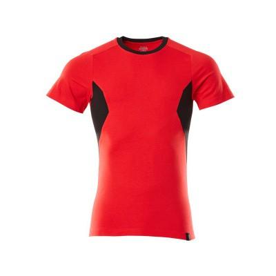 Foto van Mascot 18082-250 T-shirt signaal rood/zwart