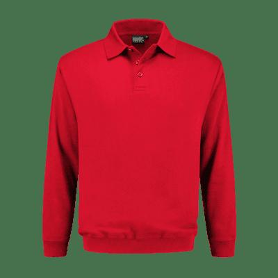 Foto van Indushirt PSO 300 (OCS) Polosweater rood