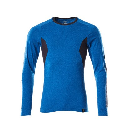 Foto van Mascot 18381-959 T-shirt, met lange mouwen azur blauw/donker marine