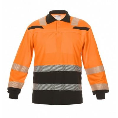 Foto van Hydrowear Tanna poloshirt EN471 | 040460-149 | oranje/zwart