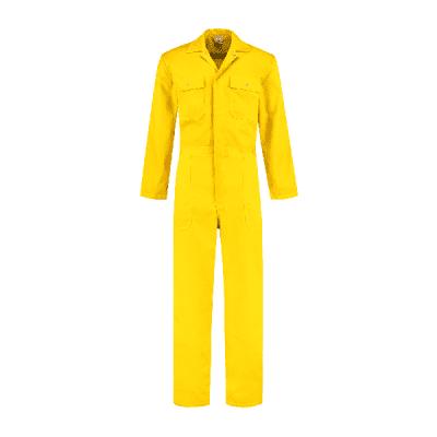 Foto van Bestex kinderoverall polyester/katoen| KOV6535 | 077-geel