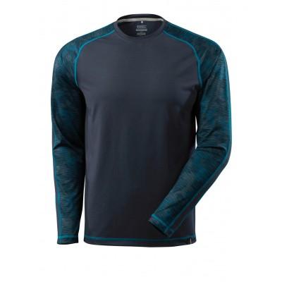 T-shirt met lange mouwen,vochtafdrijvend | 17281-944 | 010-donkermarine