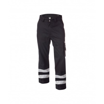 Dassy broek met reflecterende banden VEGAS | 200822 | zwart