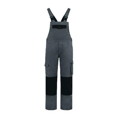Foto van Bestex Tuinoverall 60%katoen/40% polyester| TBC6040 | 0889-grijs/zwart