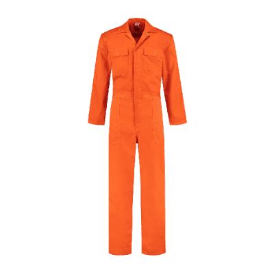 Bestex kinderoverall polyester/katoen| KOV6535 | 014-oranje