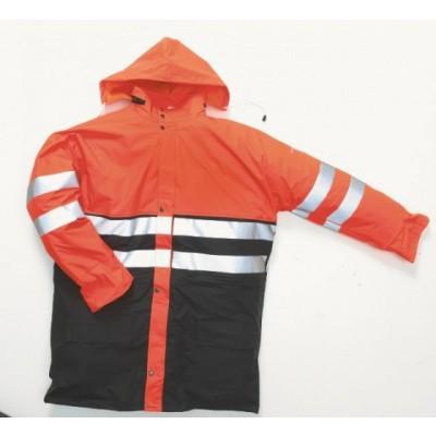 Foto van Hydrowear Plains Regenjas EN471 | 016880-149 | oranje/zwart