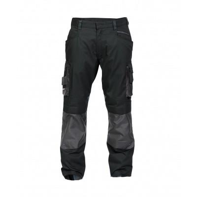 Foto van Dassy stretch broek NOVA | 200846 | zwart/antracietgrijs