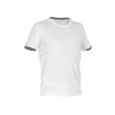 Foto van Dassy t-shirt NEXUS | 710025 | wit/antracietgrijs