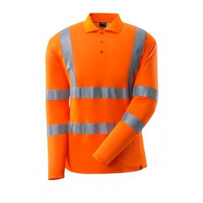 Foto van Poloshirt, lange mouwen, klasse 3 | 18283-995 | 014-hi-vis oranje
