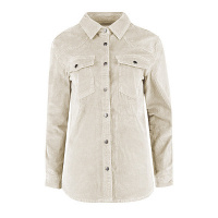 Red Button blouse SRB2910 - ivory