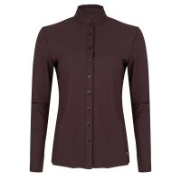 Jane Lushka blouse U719AW110 new coffee