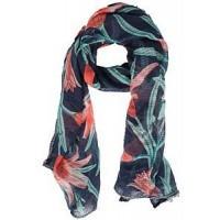 Dames sjaal 00420-00338 blauw