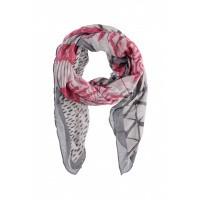Dames sjaal 000421-00256 fuchsia