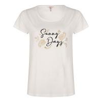 Esqualo t-shirt SP21.05000 offwhite