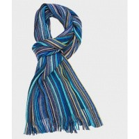 Scarf Knitted Blue PM1S30011B