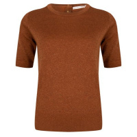 Esqualo sweater s/slve F20.03522 Cinnamon