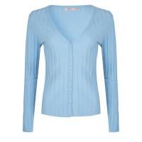 Esqualo vest SP20.07017 light blue