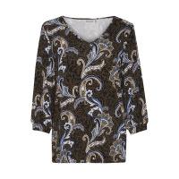 Fransa t-shirt 20608500 - black mix