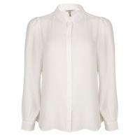 Esqualo blouse SP21.08008 offwhite
