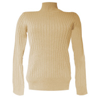 Red Button top SRB2940 - camel