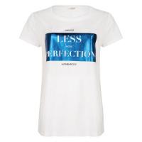 Esqualo t-shirt SP21.05022 white/blue
