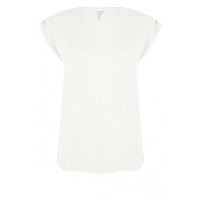 Esqualo t-shirt SP20.05025 off white