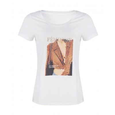 Esqualo T-shirt F19.16525-Offwhite