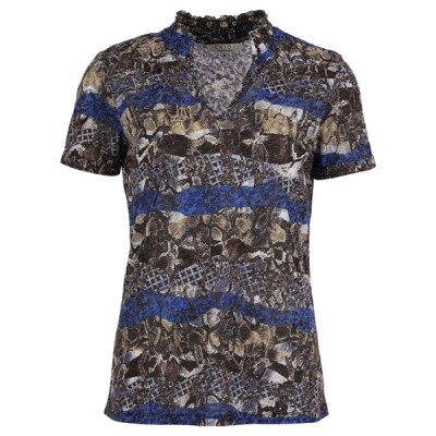 Enjoy T-shirt 187201-151kobalt