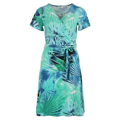 Enjoy jurk 479309-115 skygreen