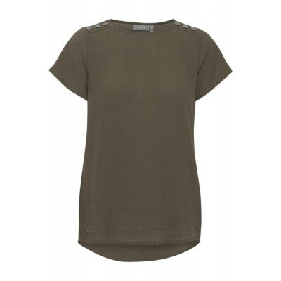 Fransa blouse 20607901/groen