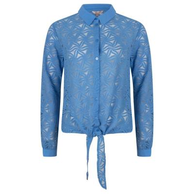 Esqualo blouse SP21.30013 blue