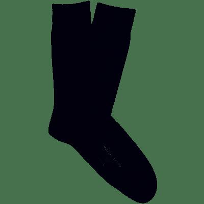 Profuomo Socks Solid Navy PP2Z00007C