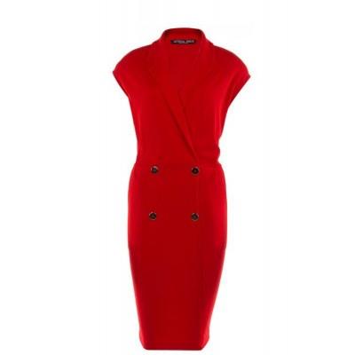 Juffrouw Jansen jurk dana-320-coral