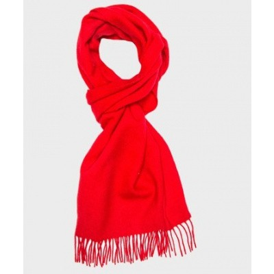Scarf Red Solid PM1S30001D