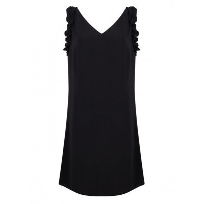 Esqualo jurk hs19.30225 black